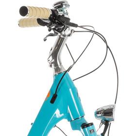 Cube Elly Ride Hybrid 500 E-citybike Damer Easy Entry blå/turkis